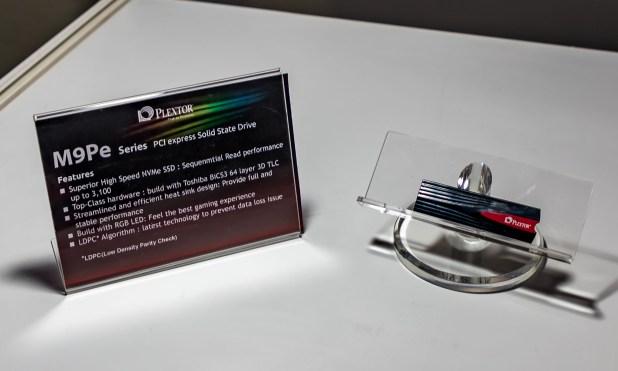 Plextor M9PE NVME SSD