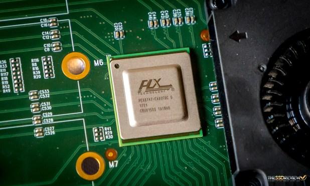 HighPoint SSD7101a-1 RAID Controller PLX PEX8747 switch