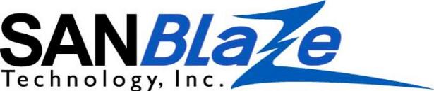 SANBlaze logo