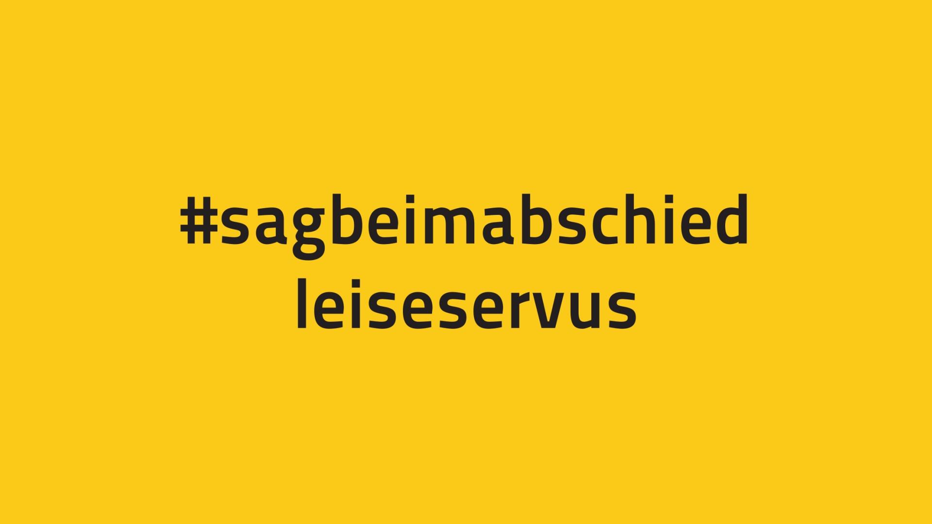 #sagbeimabschiedleiseservus | Öffentlichkeitsarbeit für die Musikschulen im VdM Hessen