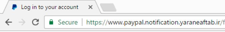 PayPal Phishing, Let's Encrypt Phishing