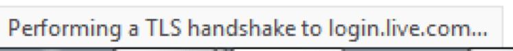 Firefox TLS Handshake