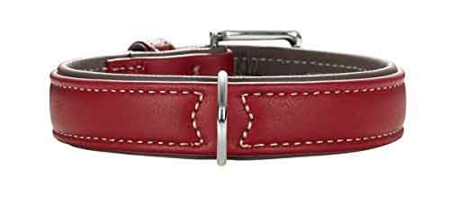 Hunter Soft Canadian Elk Leather Dog Collar
