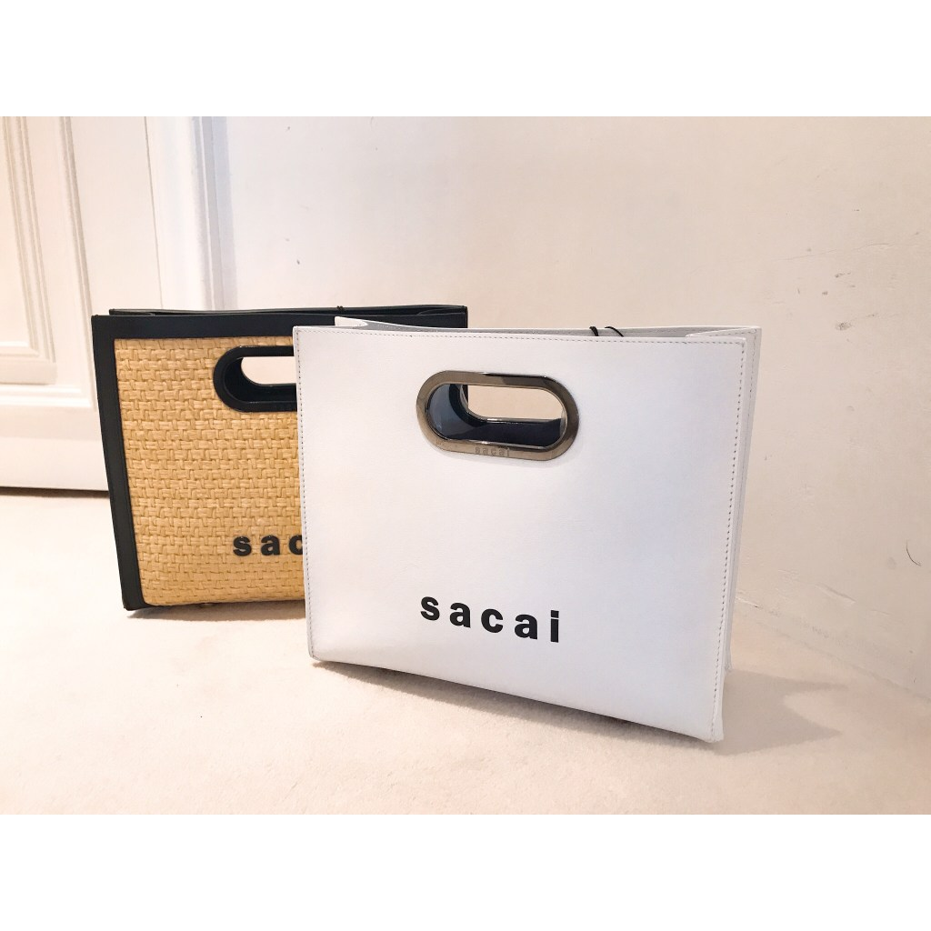 """ sacai "" new bag"