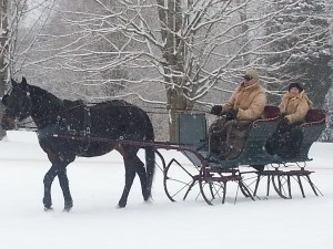 Against the Best sleighing in New York.