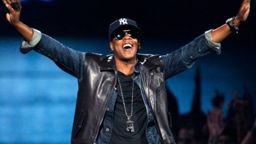 Jay-Z performs at the MTV Video Music Awards in New York on Sept. 13, 2009.