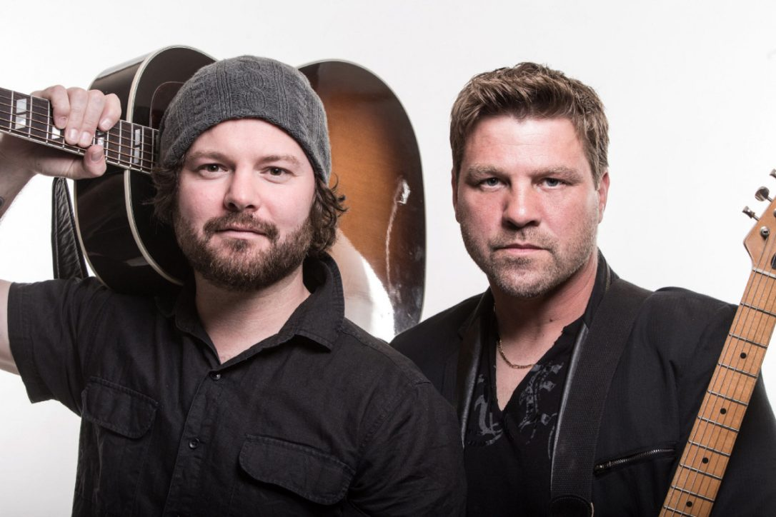 Dave Wasyliw, left, and Chris Thorsteinson are the Canadian country act Doc Walker.