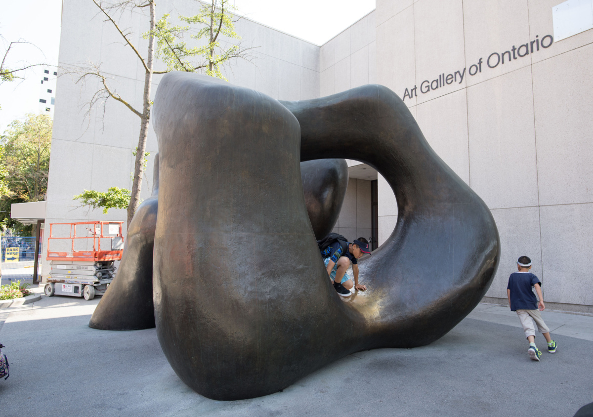 Ago To Move Much Loved Henry Moore Sculpture From Dundas