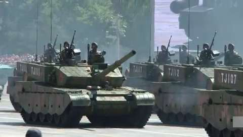 Video | China flexes military muscle in WWII anniversary ...
