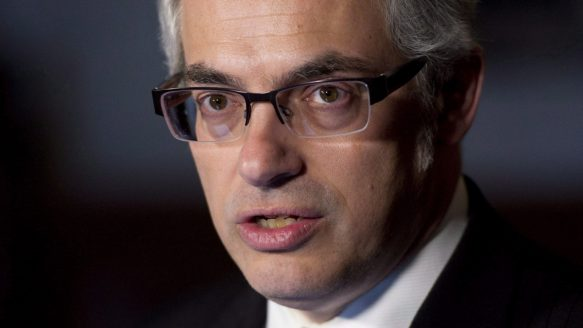 Treasury Board President Tony Clement notes that federal departments and agencies are releasing an increasing volume of documents in response to growth in requests made through access to information legislation.