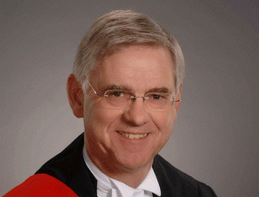 Justice Frank Newbould's family has owned a cottage in the Sauble Beach area for about 100 years, according to his lawyer.