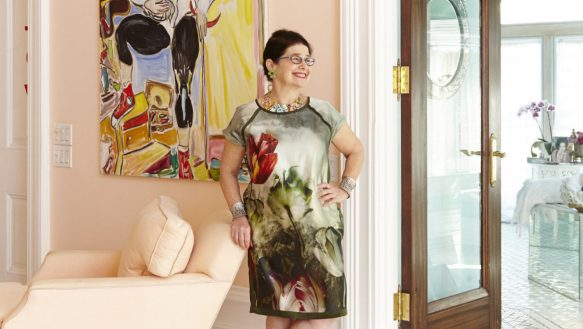 Artist Vivian Reiss is Ariel Garten's mother and a major creative influence on her.