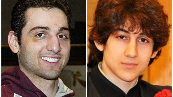 Tamerlan Tsarnaev, 26, left, and Dzhokhar Tsarnaev, 19. The body of Tamerlan will be claimed by his family, says an uncle.