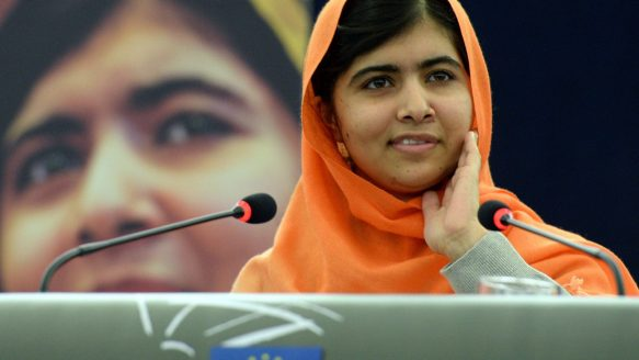 Malala Yousafzai, a Pakistani student who was shot in the head by the  Taliban, was a contender for the Nobel Peace Prize in 2013.