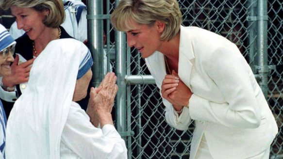 Diana's close relationship with Mother Teresa, the foundress of the Missionaries of Charity, made the princess hugely popular in India.