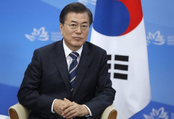 South Korean president 'sandwiched' by North's threat ...
