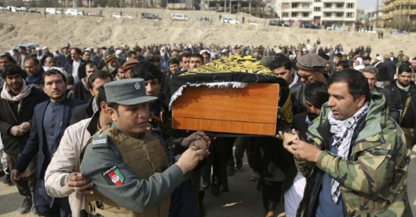 Afghanistan officials raise death toll from Kabul suicide ...