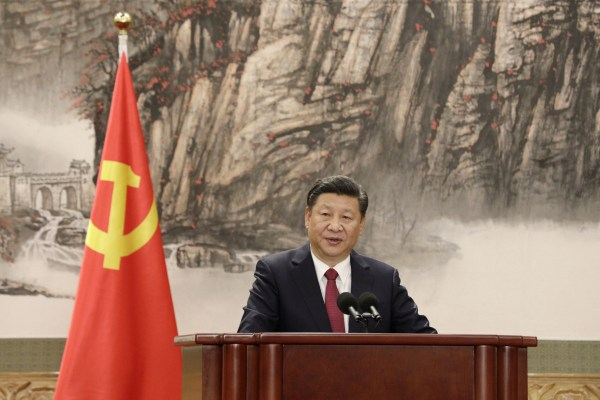 As Xi sets his sights on the world, the ruse is dispensed ...
