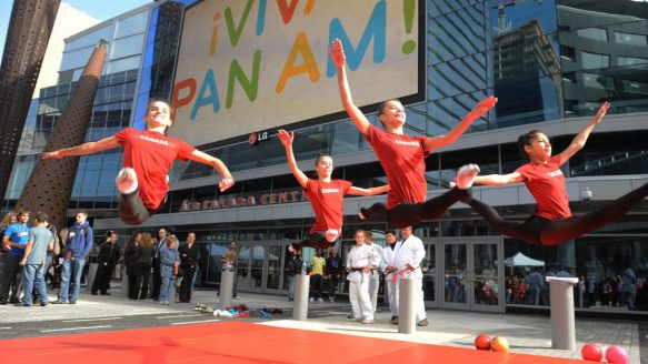 Pan AM Games in Toronto