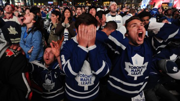 Maple Leafs Square, Game 7
