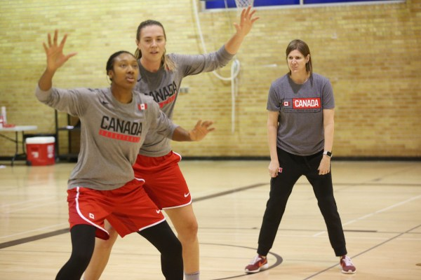 Canada's senior women's basketball team begins its journey ...