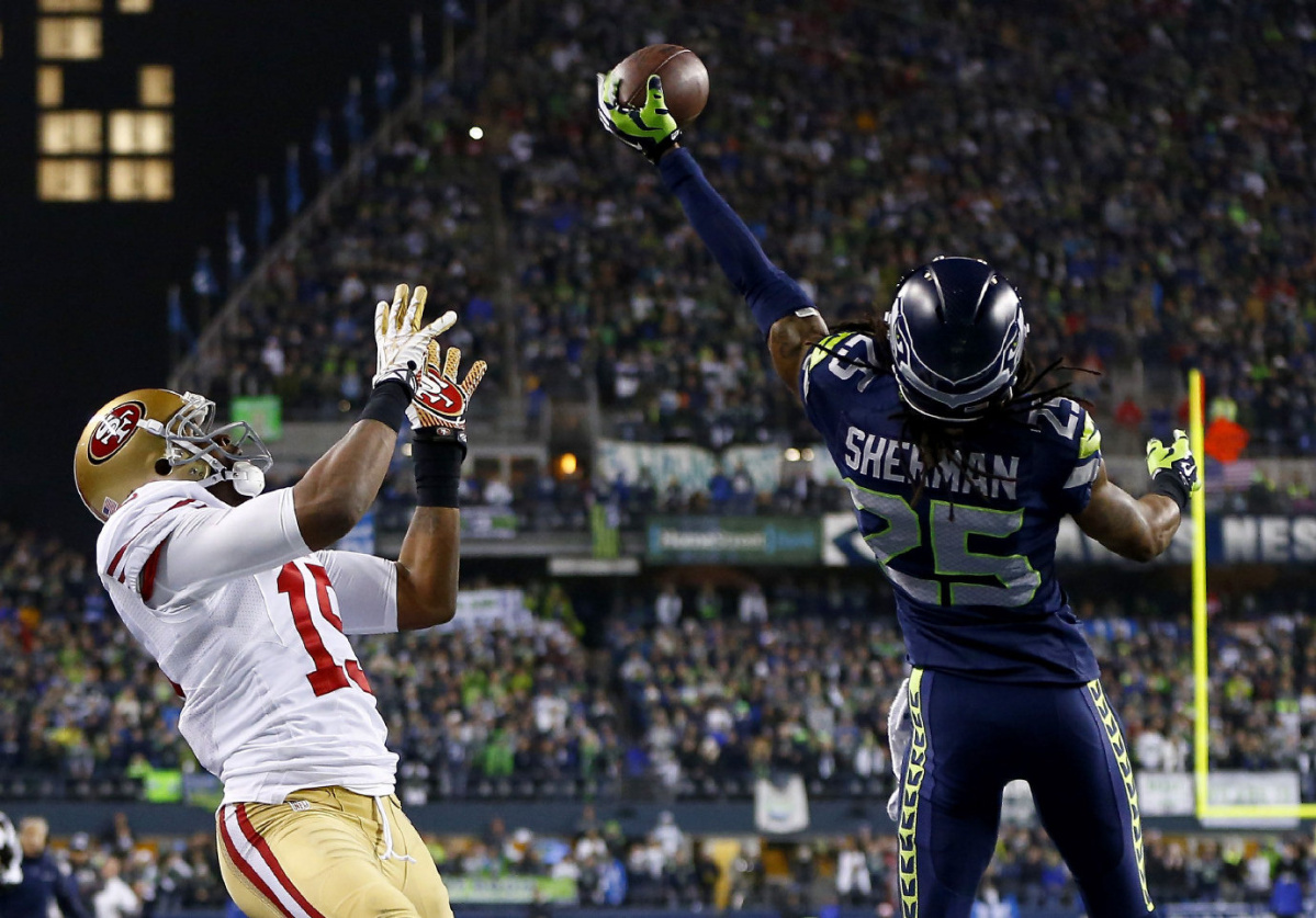 Seattle Seahawks Defence Gets Them To Super Bowl