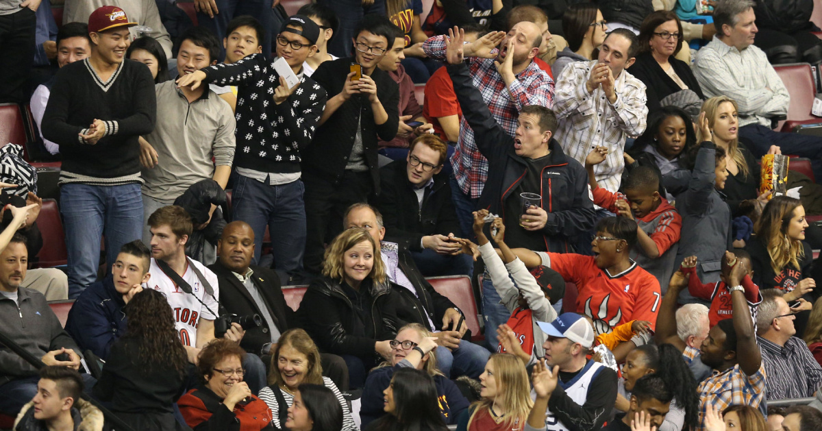 Maple Leafs Or Raptors Fans Who Has More Fun At Air