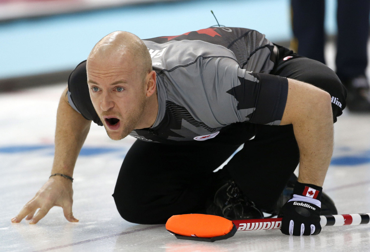 Brad Jacobs Canada Lose Second Straight Men S Curling