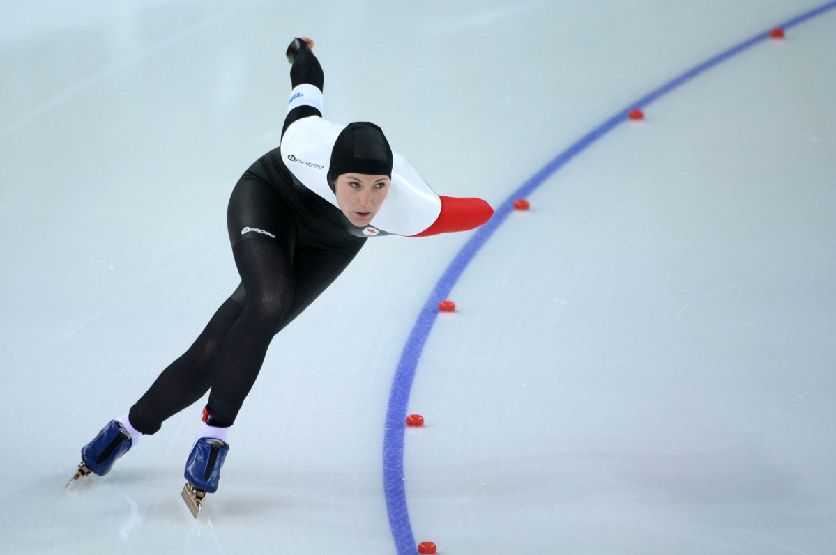 Speed Skater Anastasia Bucsis Proud Of Olympic Performance After Battling Demons