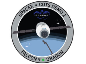 SpaceX COTS 2 Mission Patch