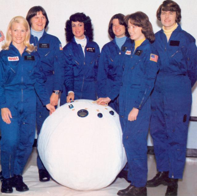 NASA's first female astronauts