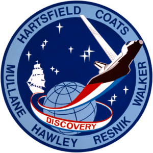 STS-41-D - The Penguin Patch