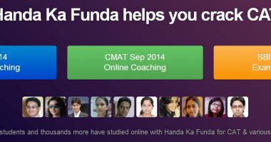 Handa Ka Funda Making CAT Entrance Exam Preparation Easy and Affordable