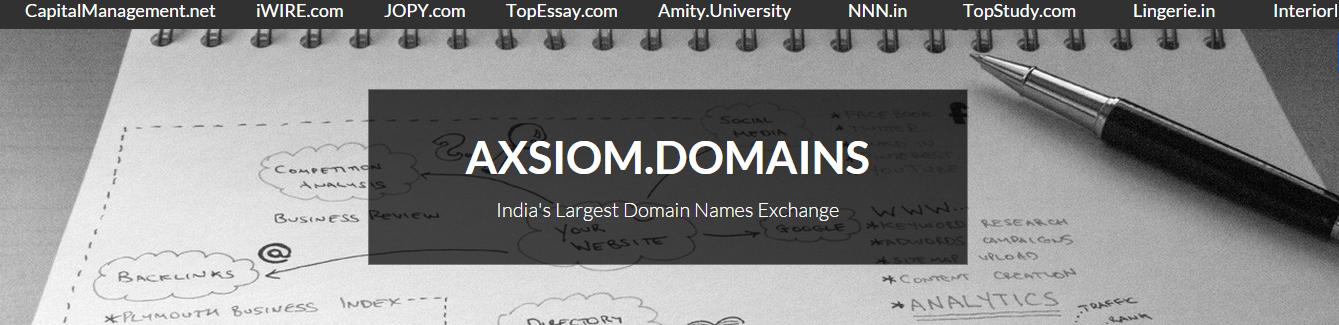 Axsiom Domains