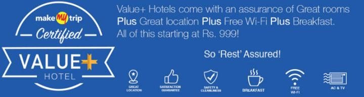 MakeMyTrip Value+