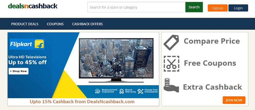 DealsNCashback