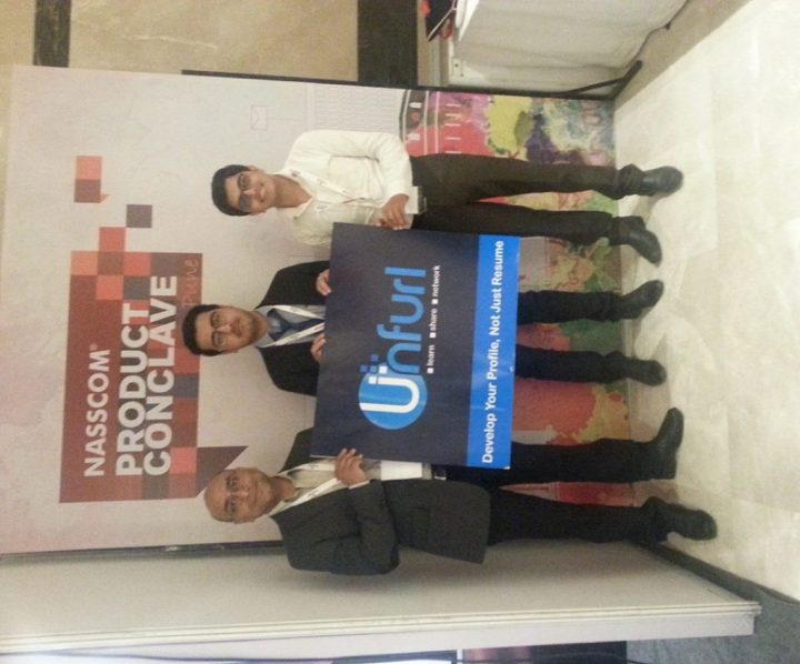 Unfurm Team At Nasscom