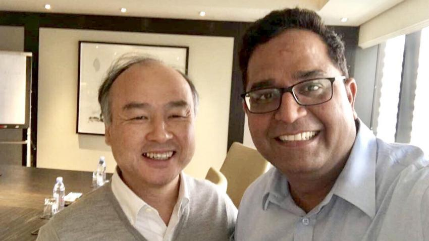 SoftBank Invests $1.4 billion in India's Paytm