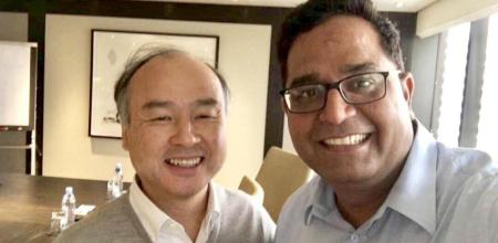 paytm raises 1.4 billion from softbank