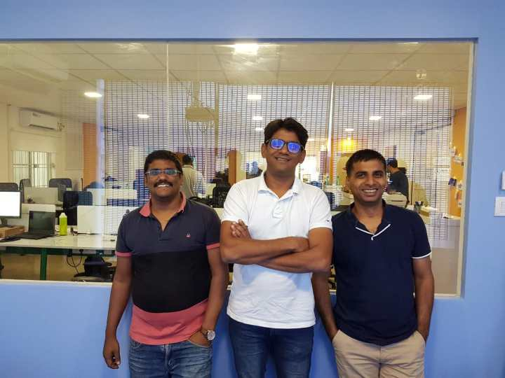 Meet the Founders (from left): Romil Jain, Rajul Jain & Anshuman Agarwal