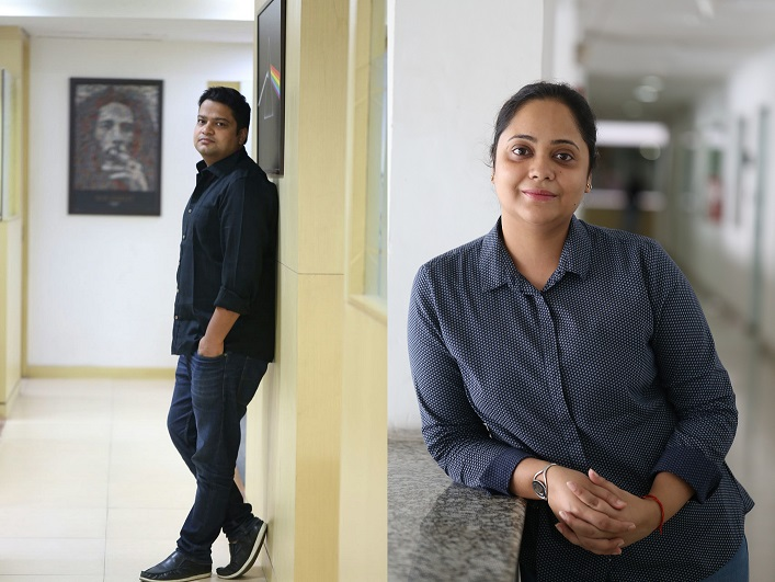 Apurva Kumar (Left), Shalini Tewari (Right)