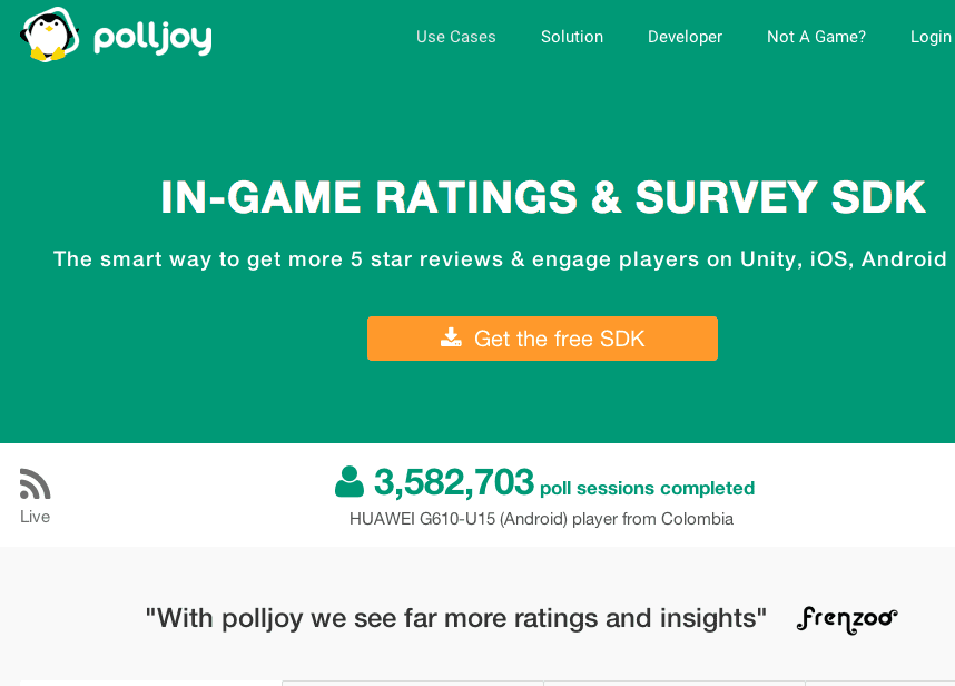 Pitch for polljoy - The Startup Pitch