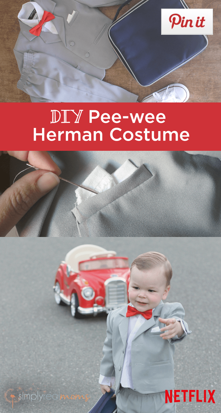Check out this fun DIY Costume Tutorial from PEE-WEE's Big Holiday