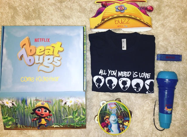 Beat Bugs is Music that is Good for your Child's Soul and Win a 6 month Subscription to Netflix #StreamTeam