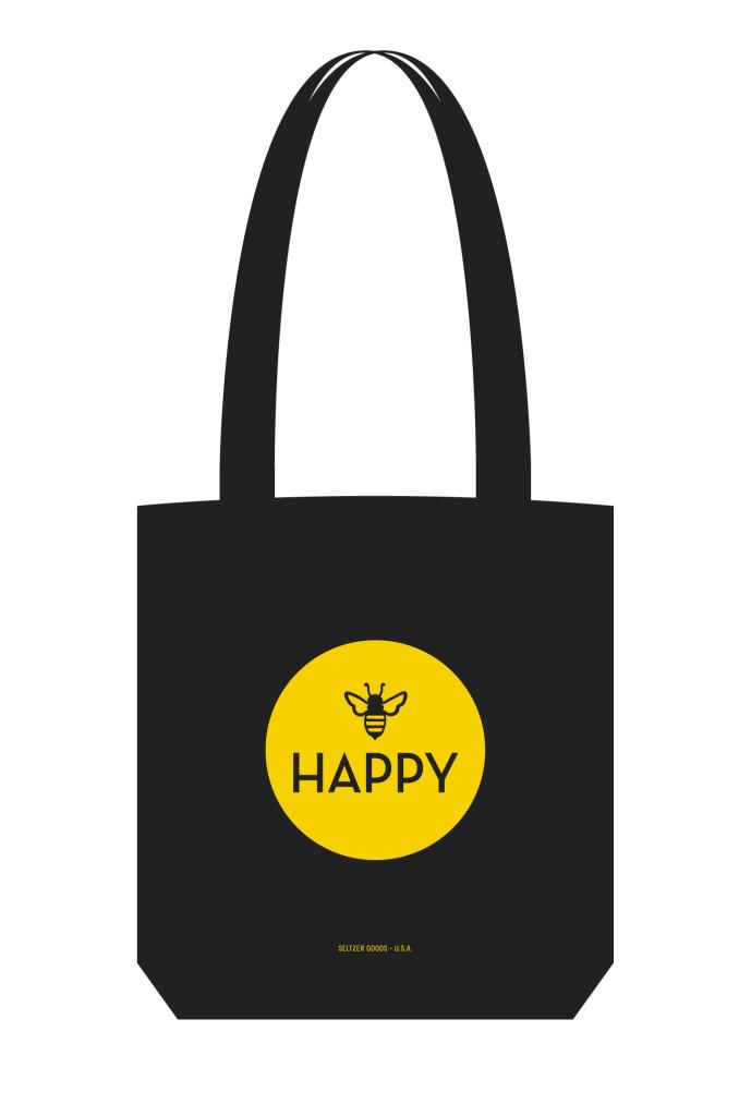 Bee Happy Tote