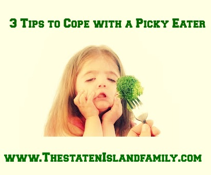 Three tips to cope with a picky eater