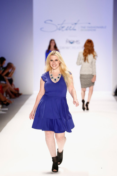 Melissa Chapman walks the runway at Strut: The Fashionable Mom Show during Mercedes-Benz Fashion Week Spring 2014 at Lincoln Center for the Performing Arts on September 7, 2013 in New York City. (September 6, 2013 - Source: Brian Ach/Getty Images North America)