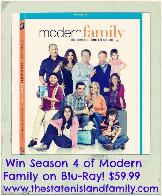 Win Season 4 of Modern Family on Blu-Ray! $59.99 www.thestatenislandfamily.com