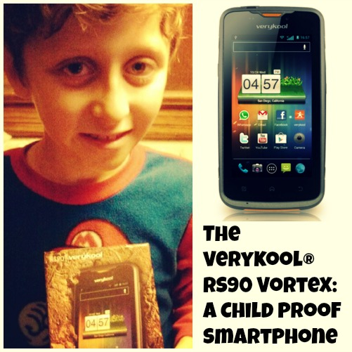 The verykool ® RS90 Vortex: A Child Proof SmartPhone