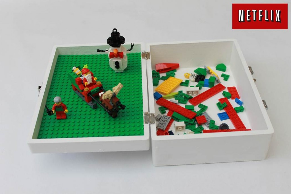 Make a Lego Travel Box #NetFlixKids